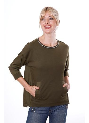 Clıche Sweatshirt Haki